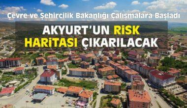 Akyurt'un Risk Haritası Çıkarılacak