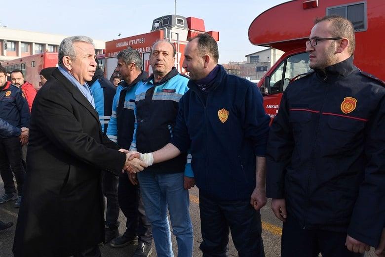 Arama kurtarma ekibi Ankara'ya döndü