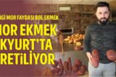 Şifa deposu mor ekmek Akyurt'ta