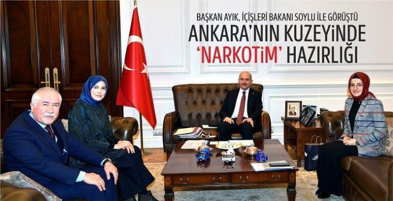 Ankara'nın Kuzeyinde 'Narkotim' Hazırlığı