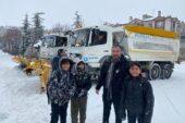 Pursaklar Belediyesi Kar Sınavını Geçti