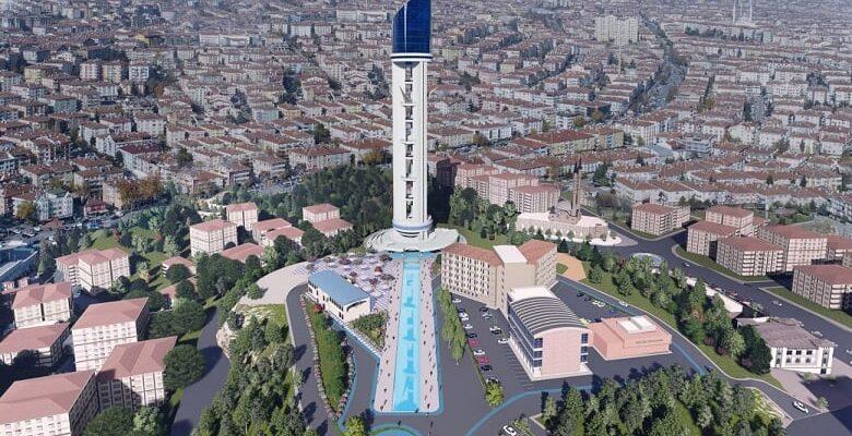Cumhuriyet Kulesi 2021'de tamamlanacak