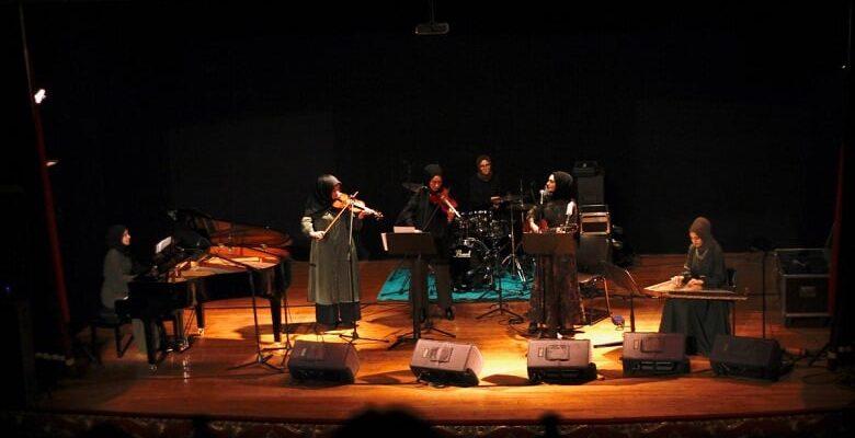 Mamak'ta kadın kadına konser