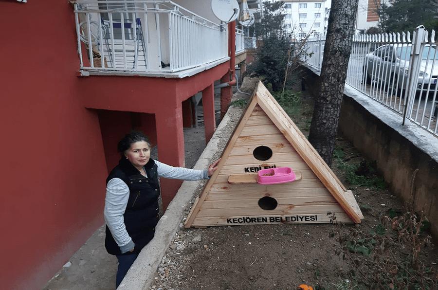 Kedi Evi İki Günde Teslim Edildi