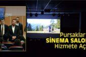 Pursaklar'da Sinema Salonu Hizmete Girdi