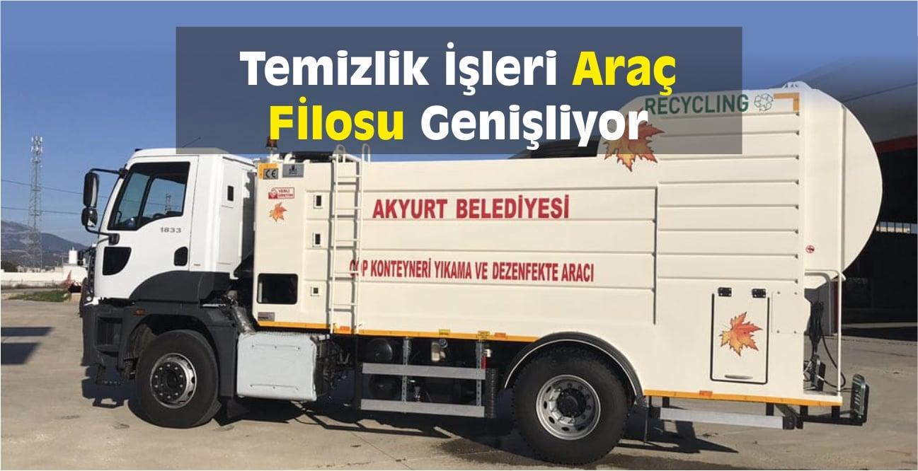 Akyurt Belediyesi Araç Filosu Genişliyor