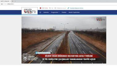 Büyükşehir Belediyesi'nden WEB Tv