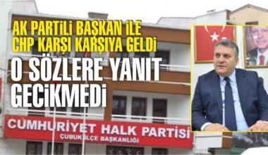 """CHP Çubuk İlçe Başkanlığı: """"Amaç siyasi karalama olmamalı"""""""