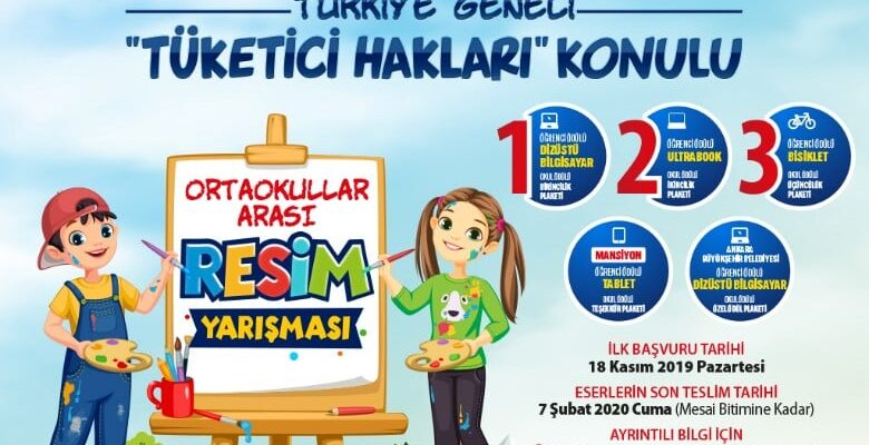 Büyükşehir'den resim ve karikatür yarışması