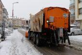 Altındağ'da 24 saat kar nöbeti