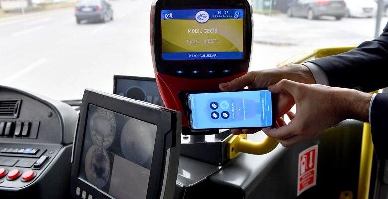 Ankara'da cep telefonları bilet gibi kullanılıyor