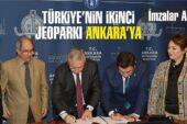 Türkiye'nin ikinci jeoparkı Ankara'ya