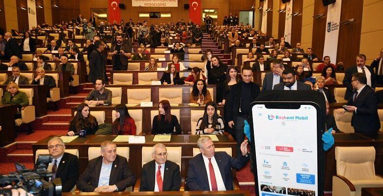 """Ankara """"Başkent Mobil"""" ile Dünya Kentleriyle Yarışacak"""