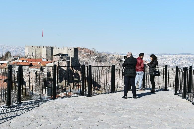 Ankara Kalesi şimdi daha güvenli