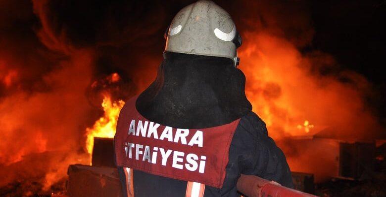 Başkent'te 2019 yılında 9 bin 250 yangın