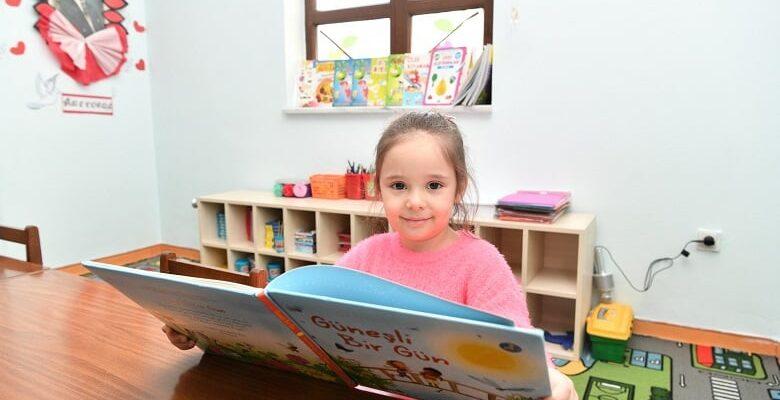 Ankara'nın ilk Bebek Kütüphanesi Mamak'ta Açılıyor