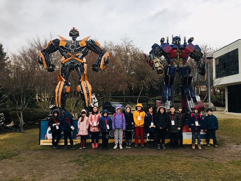 Keçiören'de 200 öğrenci 5 müzeyi ziyaret etti