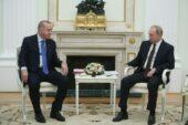 Erdoğan, Rusya Devlet Başkanı Putin ile bir araya geldi