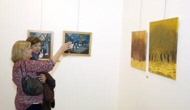 Ankaralı Kadın Ressamların 50. yıl Resim Sergisi ÇSM'de
