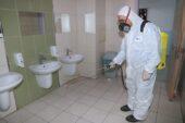 Çankaya'dan okullarda dezenfekte çalışması