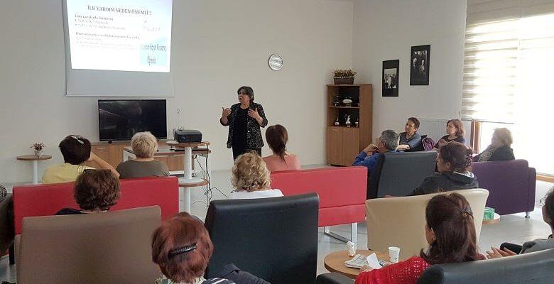 Baharevi'nde ilk yardım semineri