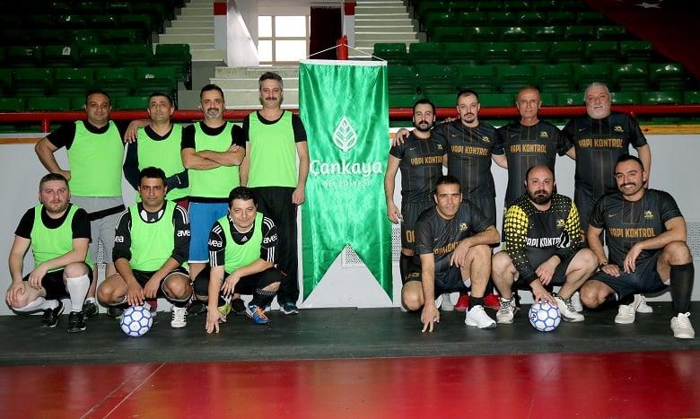 Çankaya'dan müdürlükler arası turnuva