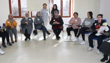 Mülteci Kadınlara Eğitim Desteği