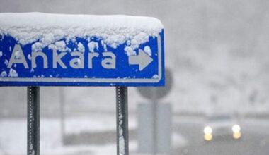 Ankara Valiliği'nden kar yağışı ve buzlanma uyarısı