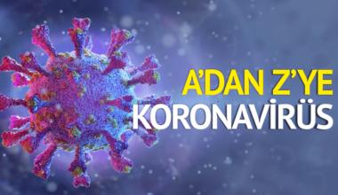 A'dan Z'ye Koronavirüs