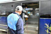 Toplu taşıma araçlarının temizliği devam ediyor