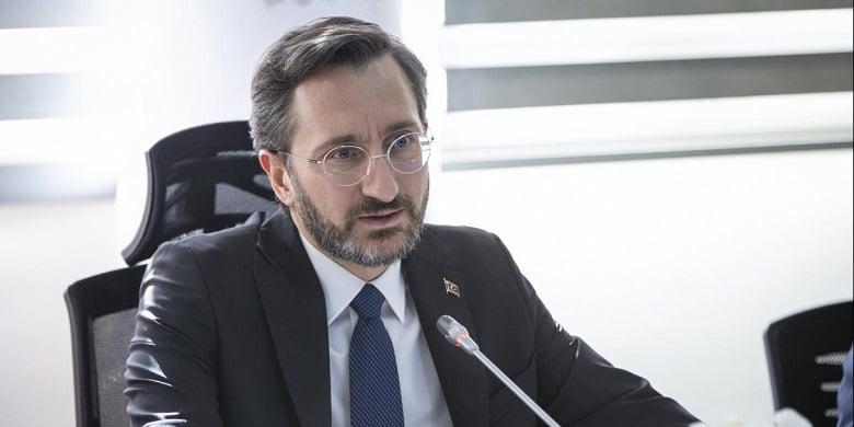 İletişim Başkanı Altun: Türkiye insani felaketi izleyemez