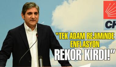 CHP'li Erdoğdu: Tek adam rejimine geçildi, enflasyon rekor kırdı