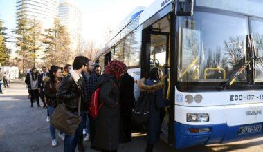 Büyükşehir'den ODTÜ'ye ücretsiz ring servisi