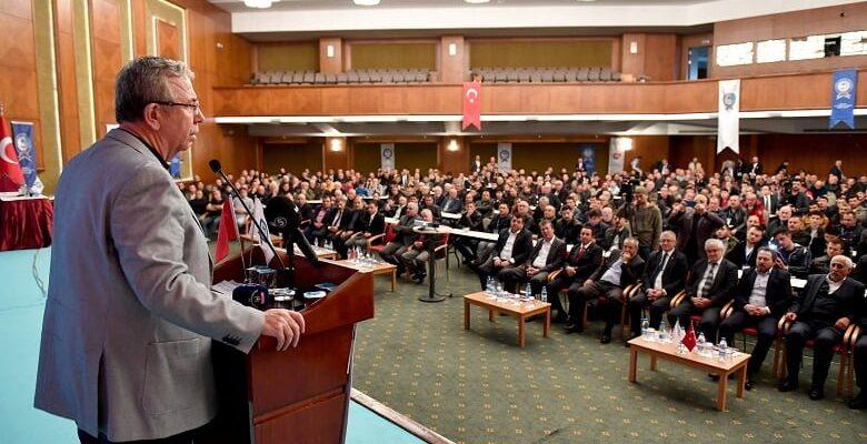 Başkan Yavaş Kızılcahamam'da esnafla buluştu