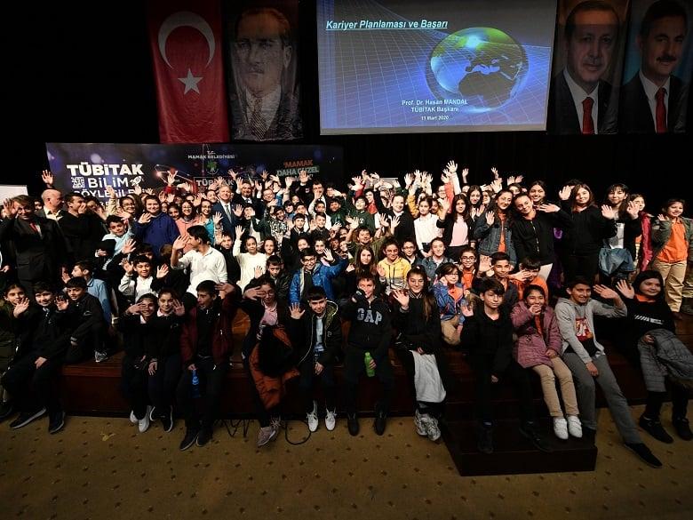 Mamak'ta Bilim ve Teknoloji haftası kutlandı