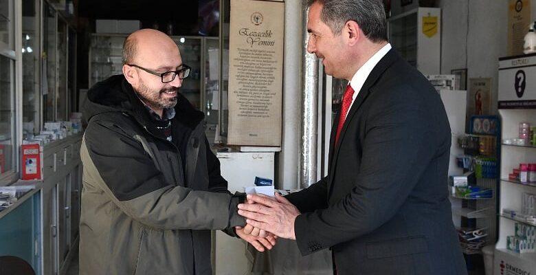 Başkan Köse'den esnaf ziyaretleri