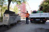 Yenimahalle'de temizlik hizmetleri hız kazandı