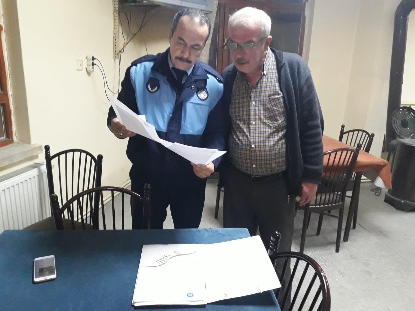 Akyurt Belediyesi'nden İşyerlerine Tebligat