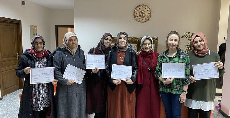 Pursaklar Belediyesi kadınları meslek sahibi yapıyor