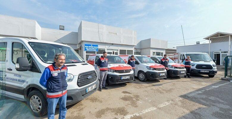 Büyükşehir'de hayvan araç filosu genişliyor