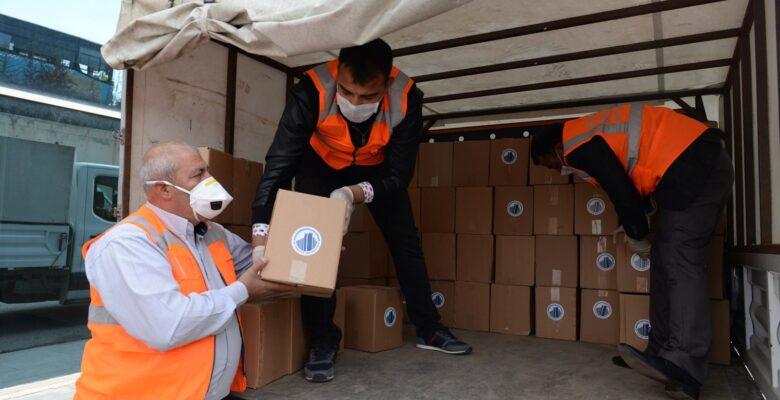 Altındağ'da 4 bin aileye sosyal yardım başladı