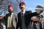 Hamamönü sokaklarında İstiklal Tiyatrosu