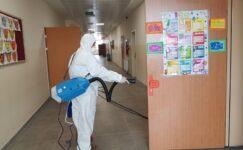 Keçiören Belediyesinden Okullarda Dezenfekteyle Corona Önlemi