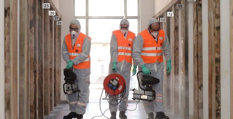 Tarihi mekanlarda Koronavirüs temizliği