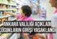 Ankara Valiliği Açıkladı. Çocukların girişi yasaklandı…