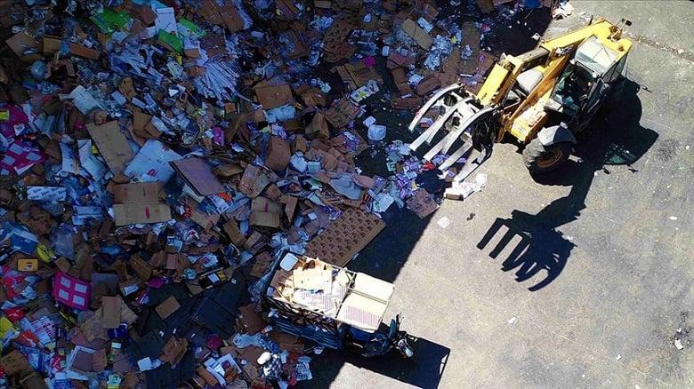 1 milyon 717 bin 88 ton atık dönüştürüldü