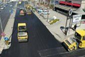 Ankara Büyükşehir'den asfalt atağı