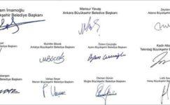 11 Büyükşehir Belediye Başkanından Ortak Açıklama