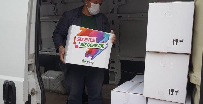 Çankaya Belediyesinin Ramazan Kolisi Dağıtımı Başladı