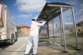 Akyurt Belediyesi dezenfekte çalışmalarına devam ediyor